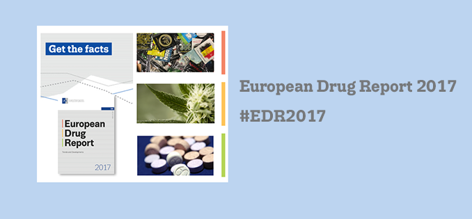 flyer for European Drug Report