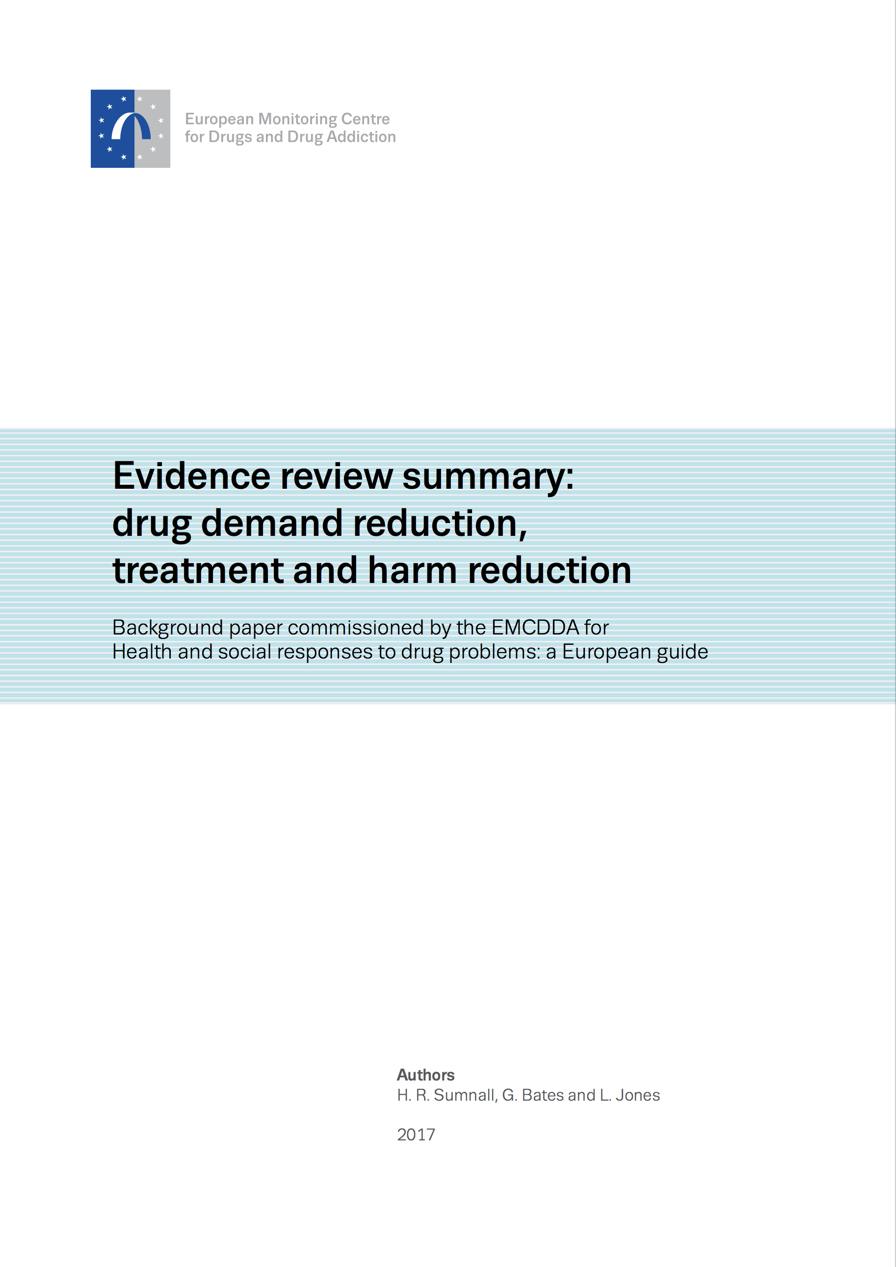 Background Paper Evidence review cover