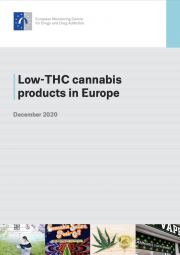 Publication cover: Low-THC cannabis products in Europe / December 2020