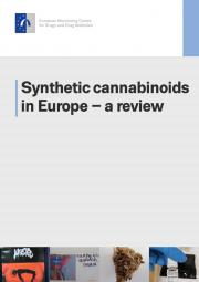 cover of technical report synthetic cannabinoids in europe a review