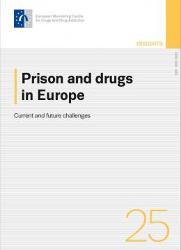 cover of Prison and drugs in Europe: current and future challenges insights report
