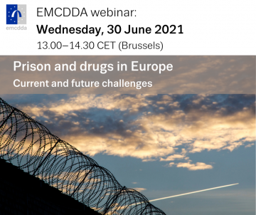 image of barbed wire on top of a wall with information of date and time of webinar