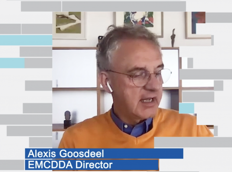 video screenshot showing Alexis Goosdeel