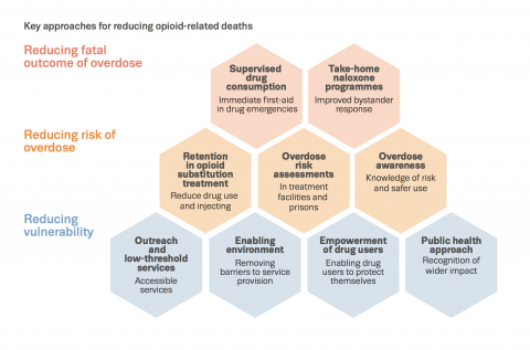key approaches for reducing opioid related deaths