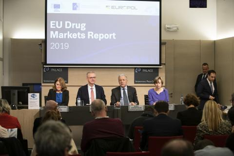 Press conference of the EU Drug Markets Report 2019