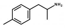 Molecular structure of 4-MA