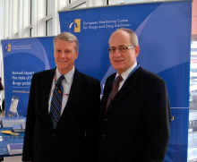 EMCDDA and CICAD Directors at the UN Commission on Narcotic Drugs (CND) in Vienna (2010)