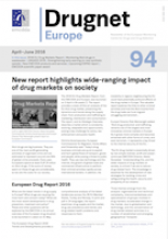 Drugnet Europe newsletter thumbnail
