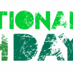 logo of international youth day 2021 transforming food systems green font in white background