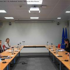 Meeting between European Commissioner for Home Affairs Ylva Johansson and staff at the EMCDDA, 12 April 2021