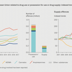 drug law offences in the eu related to drug use or possession