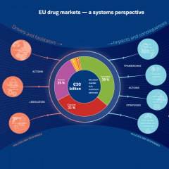 Conceptual overview of the EU drug markets ecosystem