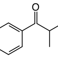 Molecular structure of mephedrone