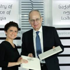 Director with Georgian Minister of Justice