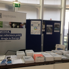 EMCDDA publications stand