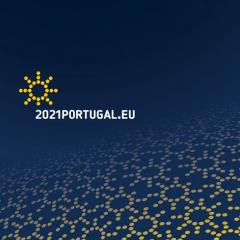 logo of the  portuguese presidency of the council of the EU