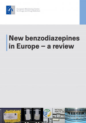 cover of New benzodiazepines in Europe – a review report