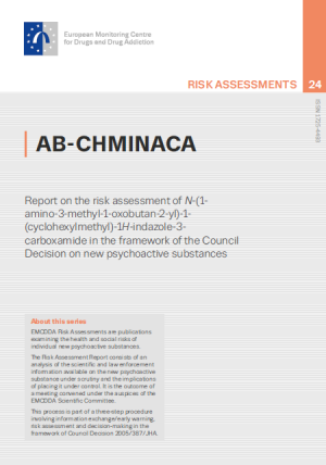 Cover of the AB-CHMINACA risk assessment