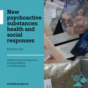 cover of mini guide new psychoactive substances: health and social responses
