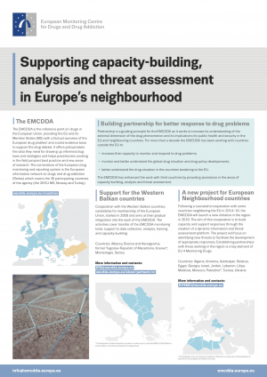 Poster on Supporting capacity-building, analysis and threat assessment in Europe's neighbourhood