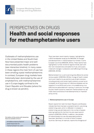 Methamphetamine POD's cover