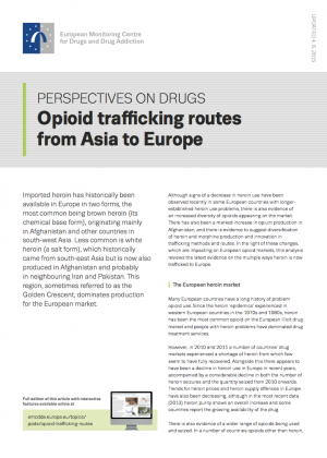 Trafficking routes POD's cover