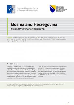 Bosnia and Herzegovina national drug report cover