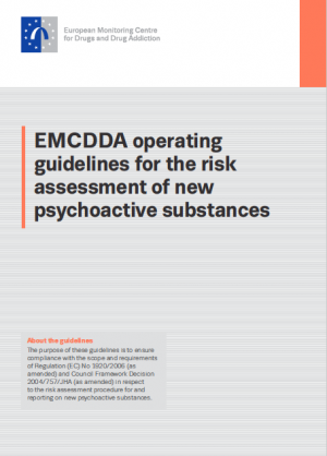 Cover page of risk assessment guidelines