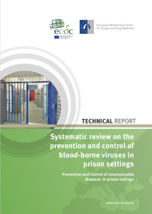 Cover of Systematic review ECDC-EMCDDA guidance BBV prison