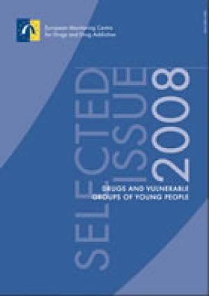 Publication cover of Drugs and vulnerable groups of young people