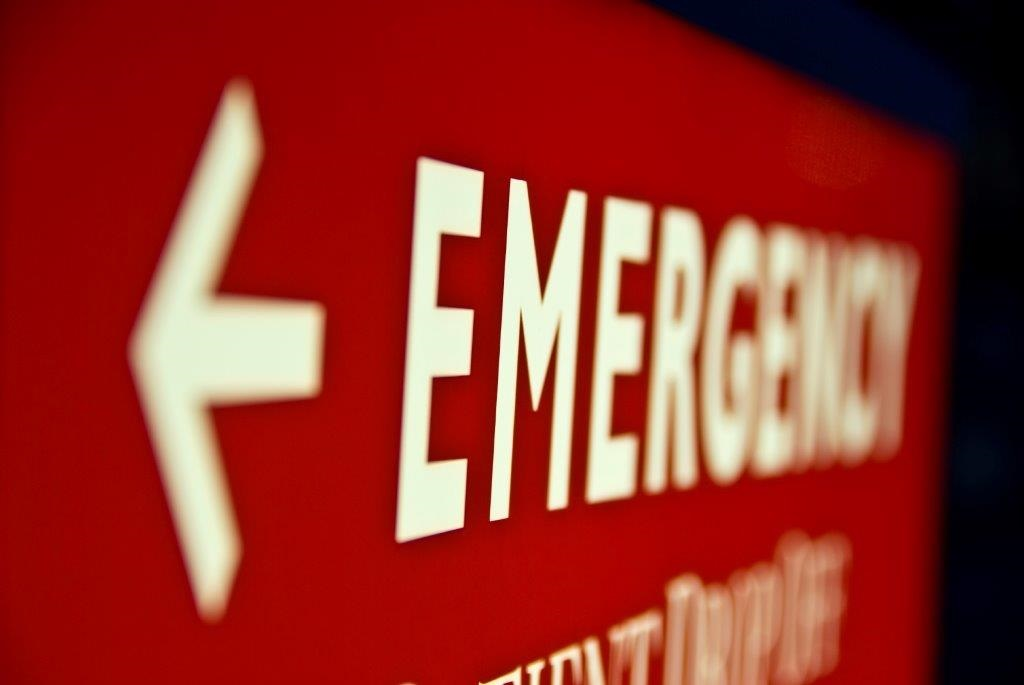 Emergencies arrow